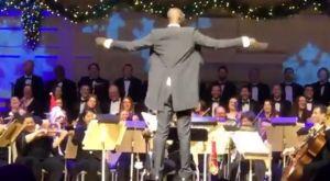 Ο Τάκο Φολ έγινε για λίγο διευθυντής ορχήστρας!