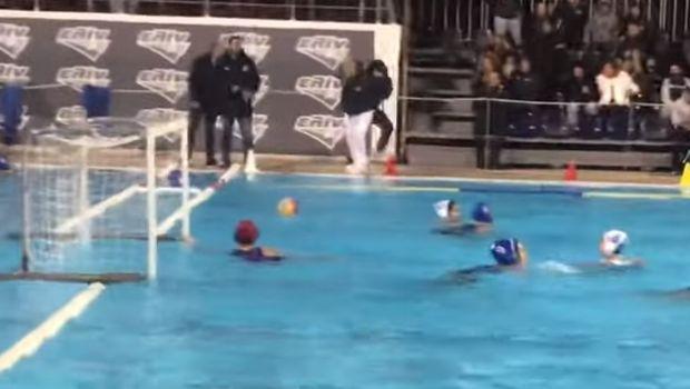 Οπαδός έσπρωξε διαιτητή στην πισίνα σε αγώνα πόλο γυναικών