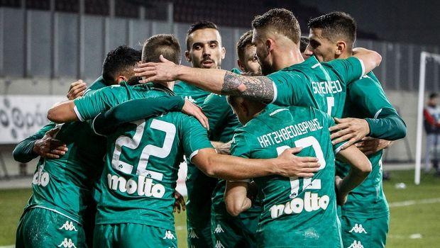 ΑΕΛ - Παναθηναϊκός 0-2: Διπλό τετράδας το τριφύλλι στη Λάρισα
