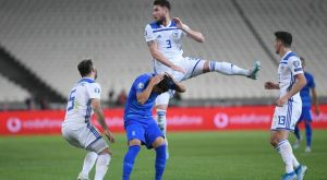 Ελλάδα – Βοσνία: Το 1-1 των φιλοξενούμενων με τον Κόγιακ