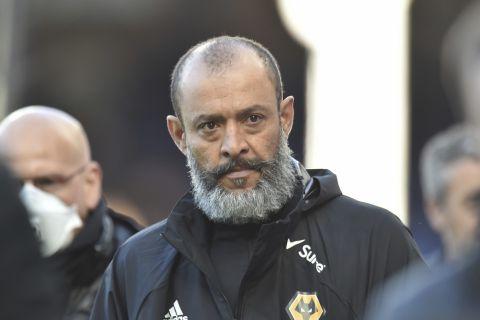 Ο Νούνο Εσπίριτο Σάντο ως προπονητής της Γουλβς