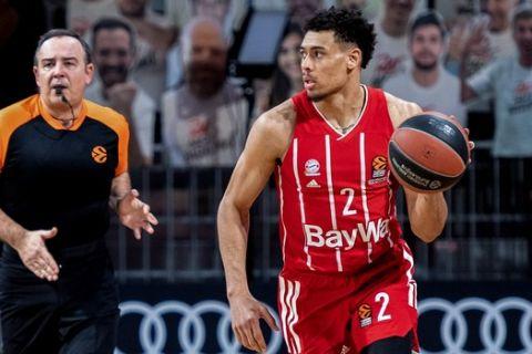 Ο Μπάλντουιν σε στιγμιότυπο από αγώνα της Μπάγερν στην EuroLeague