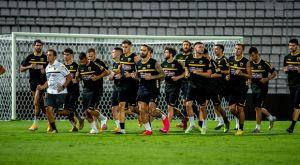 ΑΕΚ: Η τελευταία προπόνηση πριν από τον τελικό