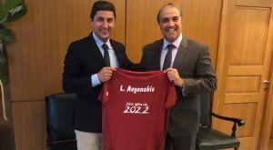 Συνάντηση Αυγενάκη με τον Πρέσβη του Κατάρ