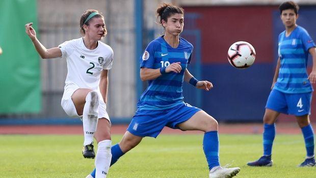 Ισόπαλη 1-1 με την Ιρλανδία η Εθνική Γυναικών