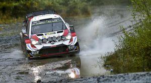 WRC: Μια ανάσα από τη νίκη ο Τάνακ στην Ουαλία