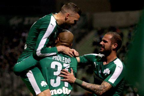 Ο Παναθηναϊκός διέλυσε με 4-0 τον Ηρακλή στην Λεωφόρο