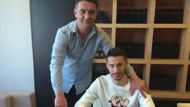 Στην ΑΕΛ μέχρι το 2022 ο Μίλος Φιλίποβιτς