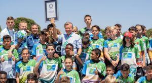 Νέο ρεκόρ γκίνες για τις περισσότερες εθνικότητες σε προπόνηση ποδοσφαίρου