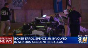 Errol Spence: Σε κρίσιμη κατάσταση ο παγκόσμιος πρωταθλητής του μποξ