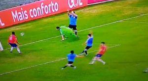 Κόπα Αμέρικα: Το έκανε κι αυτό ο Σουάρες, ζήτησε πέναλτι σε χέρι τερματοφύλακα