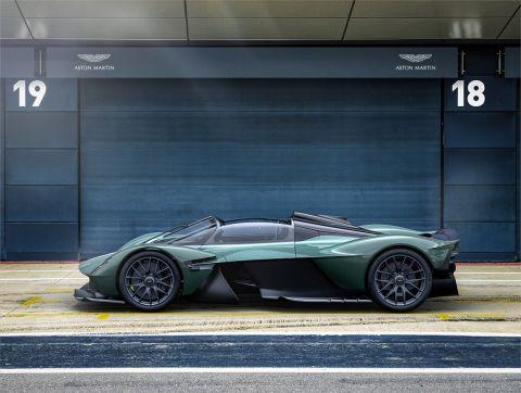 Αυτή η Aston Martin Valkyrie Spider θα βγει μόνο σε 85 αντίτυπα