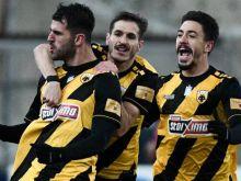 ΑΕΚ - ΑΕΛ 3-0: Τρίποντο με πορτογαλικό χατ-τρικ
