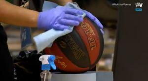 Liga Endesa: Το υγειονομικό πρωτόκολλο περιλαμβάνει -μέχρι και- αντικατάσταση μπάλας εν ώρα αγώνα