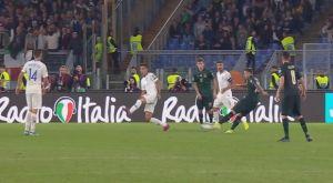 Ιταλία – Ελλάδα: Με μακρινό σουτ ο Μπερναρντέσκι έκανε το 2-0