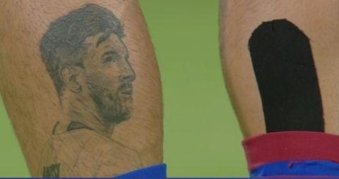 Βόλος - Άρης: Το εντυπωσιακό τατουάζ του Φεράρι με τη μορφή του Μέσι