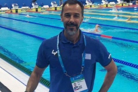 """Νικολόπουλος: """"Μπορούν να είναι ανταγωνιστικοί οι Έλληνες κολυμβητές"""""""