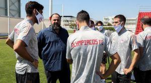 """Μαρινάκης: """"Ακόμα μεγαλύτερες επιτυχίες σε Ελλάδα και Ευρώπη, αρχής γενομένης από το Κύπελλο"""""""