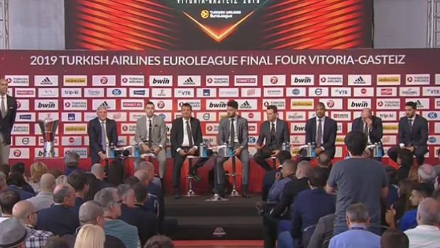 LIVE Streaming: Η συνέντευξη Τύπου του Final Four της EuroLeague