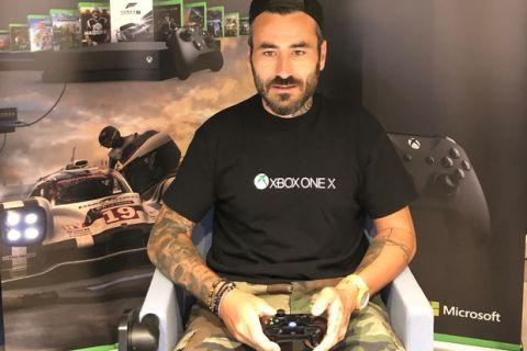 Ο Γιώργος Μαυρίδης παρουσιαστήςστο Xbox Arena Festival powered by Πλαίσιο!