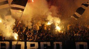 ΠΑΟΚ: Οι οπαδοί της Παρτιζάν πανηγύρισαν το πρωτάθλημα του Δικεφάλου
