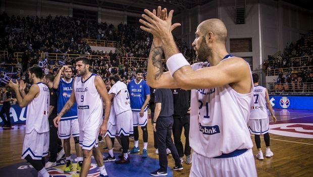 Στην πρώτη δεκάδα της FIBA η Ελλάδα