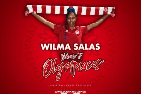 Η νέα ακραία του Ολυμπιακού, Βίλμα Σάλας