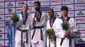 """Τάε κβον ντο: """"Ασημένιος"""" πρωταθλητής κόσμου ο Τεληκωστόγλου"""