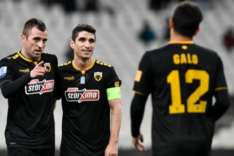 ΑΕΚ - Κισσαμικός 5-0: Εύκολη νίκη με Γκάλο και Κρίστιτσιτς