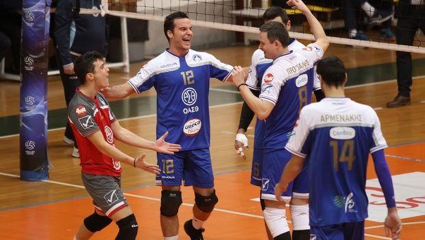 Volley League Ανδρών: Μεγάλης σημασίας νίκη για τον Ηρακλή