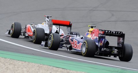Ο Λιούις Χάμιλτον στο GP της Γερμανίας το 2011