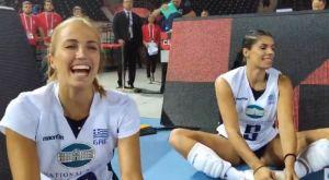 Οι πανηγυρισμοί των κοριτσιών της Εθνικής μετά τη νίκη επί της Γαλλίας