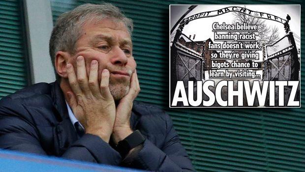 Ρομάν Αμπράμοβιτς: Στέλνει ακροδεξιούς οπαδούς της Τσέλσι στο Άουσβιτς!