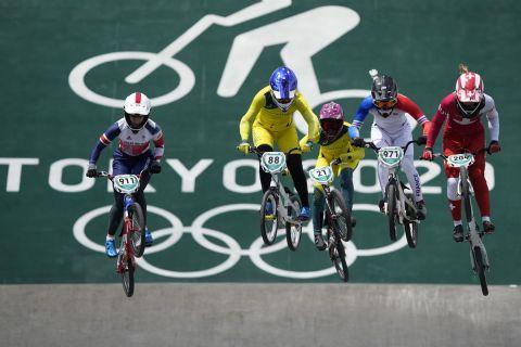 Στιγμιότυπο από τους Ολυμπιακούς Αγώνες του Τόκιο