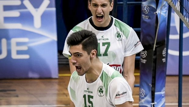 Volleyleague ανδρών: Βήμα τετράδας για τον Παναθηναϊκό, 3-2 τον Φοίνικα