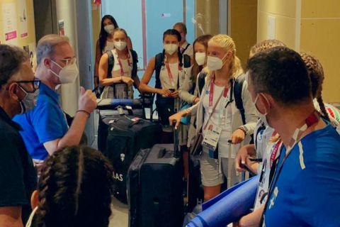 Ολυμπιακοί Αγώνες - Καλλιτεχνική κολύμβηση: Από την καραντίνα σε ξενοδοχείο στο Ολυμπιακό Χωριό η ελληνική αποστολή
