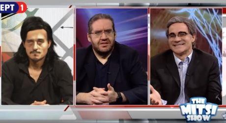 VIDEO: Το 'κανε κι αυτό ο Μητσικώστας: Γιαννακόπουλος vs Μπερτομέου!