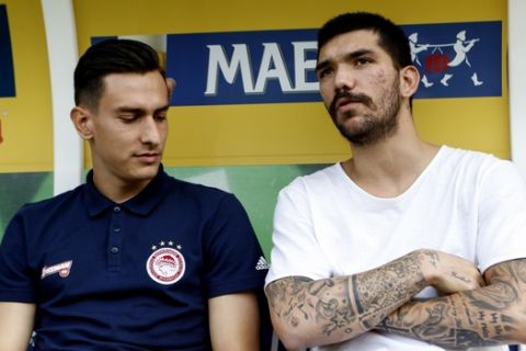 ΠΡΟΕΤΟΙΜΑΣΙΑ ΤΟΥ ΟΛΥΜΠΙΑΚΟΥ ΣΤΟ ΓΚΕΝΚ / ΦΙΛΙΚΟ / ΜΑΛΙΝ - ΟΣΦΠ (LATO KLODIAN / Eurokinissi Sports)