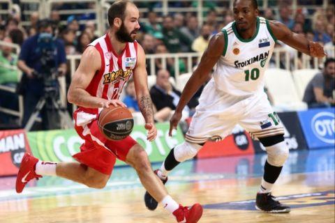 Παναθηναϊκός - Ολυμπιακός 66-77