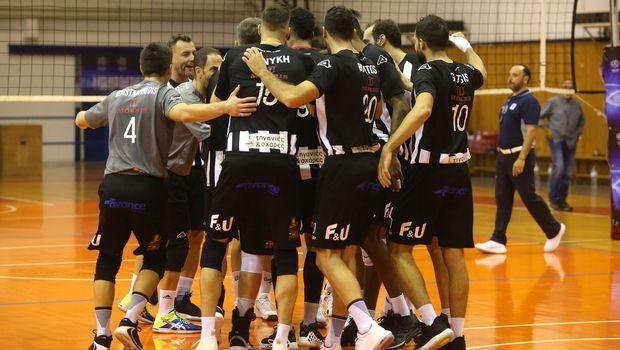 Volley League ανδρών: Άνετες νίκες για Παναθηναϊκό και ΠΑΟΚ