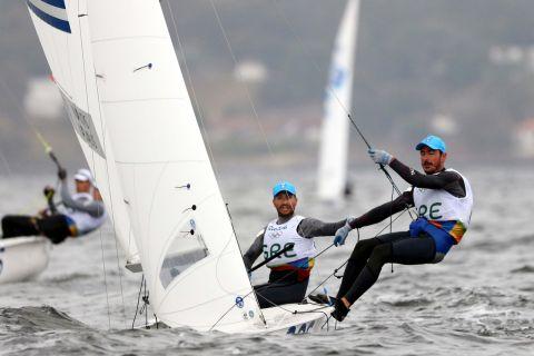Οι Μάντης και Καγιαλής στους Ολυμπιακούς Αγώνες του Ρίο