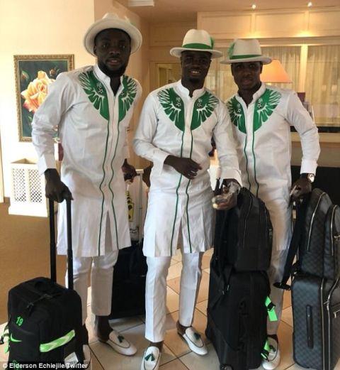 Τα ρούχα της αποστολής της Νιγηρίας είναι από άλλο πλανήτη!