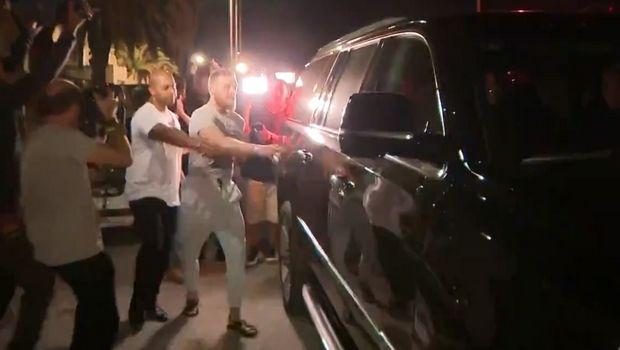 Ο McGregor συνελήφθη για καταστροφή και κλοπή κινητού τηλεφώνου