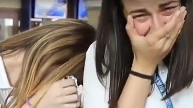 Έκλαιγαν στο