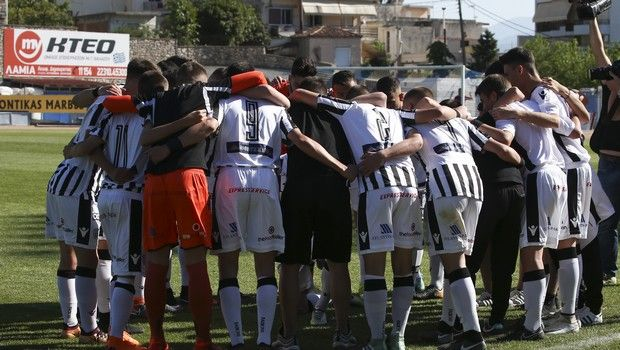 VIDEO: Ο όρκος νίκης του ΠΑΟΚ κ-15 με τον παλιό ύμνο της ομάδας