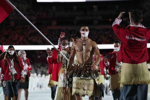 Η παρέλαση των Ολυμπιακών Αγώνων