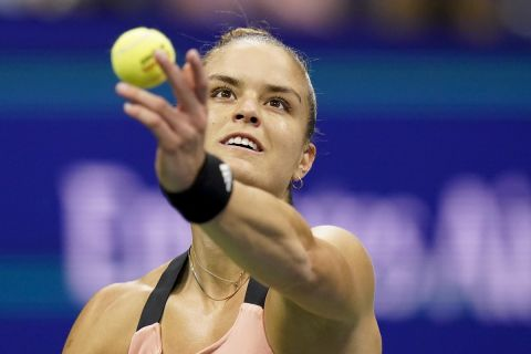 Η Μαρία Σάκκαρη σε προσπάθειά της στο US Open απέναντι στην Έμα Ραντουκάνου | 9 Σεπτεμβρίου 2021