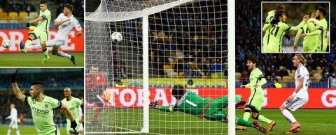 Γράφει ιστορία η Μάντσεστερ Σίτι, 3-1 στο Κίεβο
