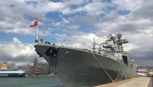 Στον Πειραιά το ρωσικό αντιτορπιλικό «Αντιναύαρχος Κουλακόβ» - Δείτε εικόνες