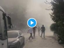 Νεκροί στη Σμύρνη από τον σεισμό - Τσουνάμι και κτήρια να καταρρέουν σε ζωντανή μετάδοση
